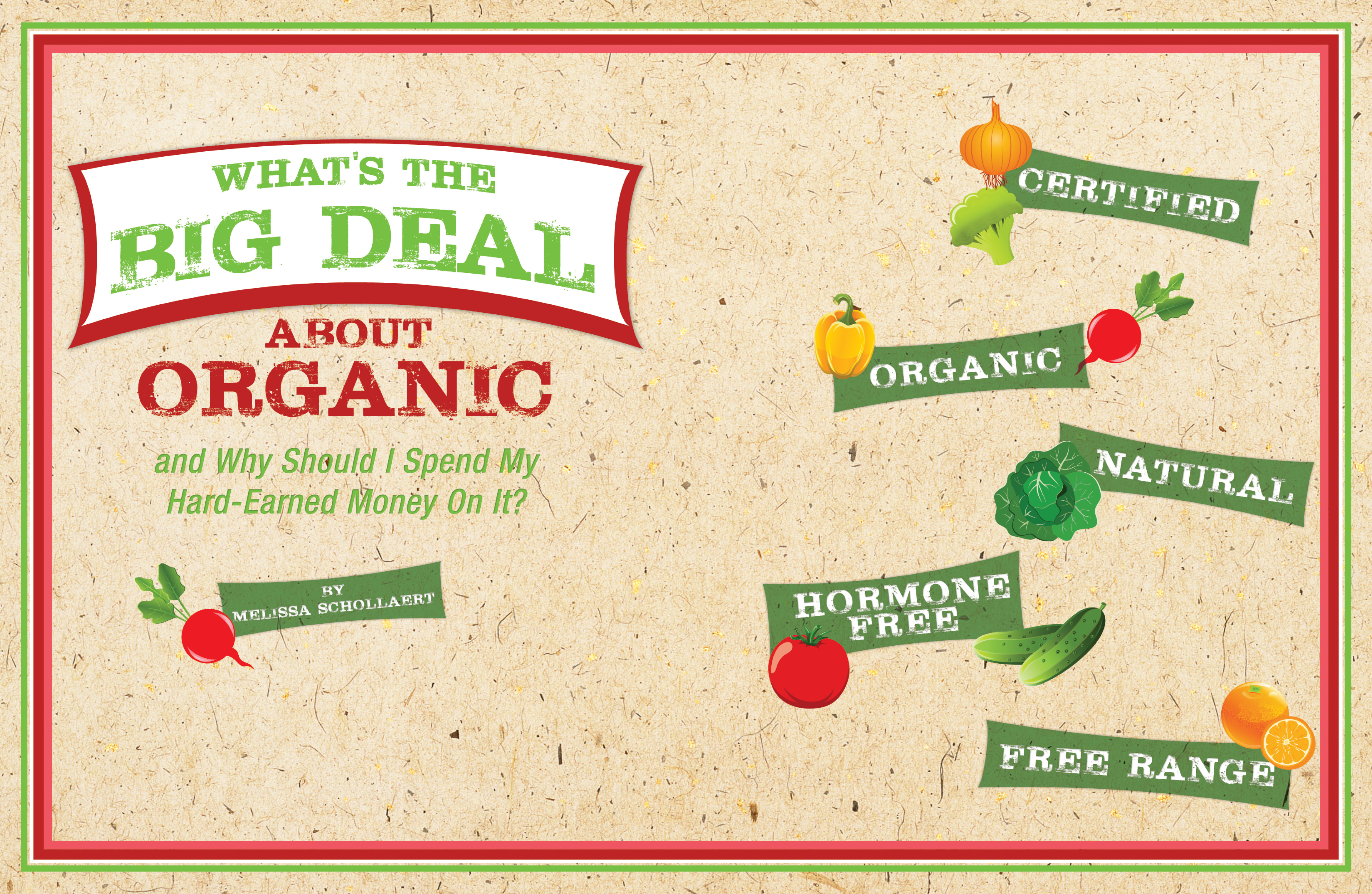 What's the BIG Deal with Organic and Why Should I Spend My Hard Earned Money on it?????