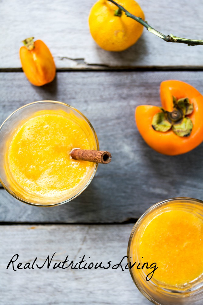 Persimmon Smoothie Recipe