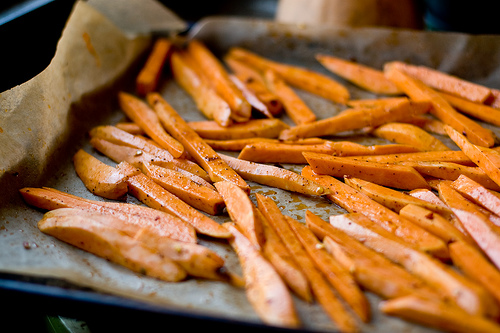 Suh-weet Potato Fries…..