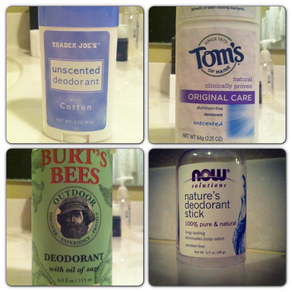 The Great Deodorant Debate…..