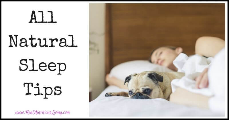 All Natural Sleep Tips