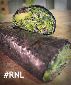 nori salad rolls