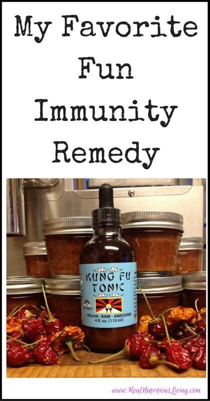 My Favorite Fun Immunity Remedy // realnutritiousliving.com