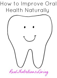 tips to improve oral health naturally