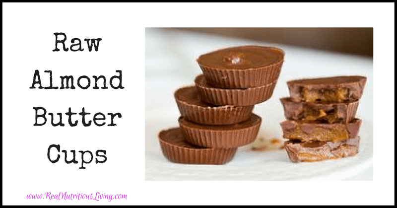 Raw Almond Butter Cups (Gluten, Soy, Dairy, and Sugar-Free)
