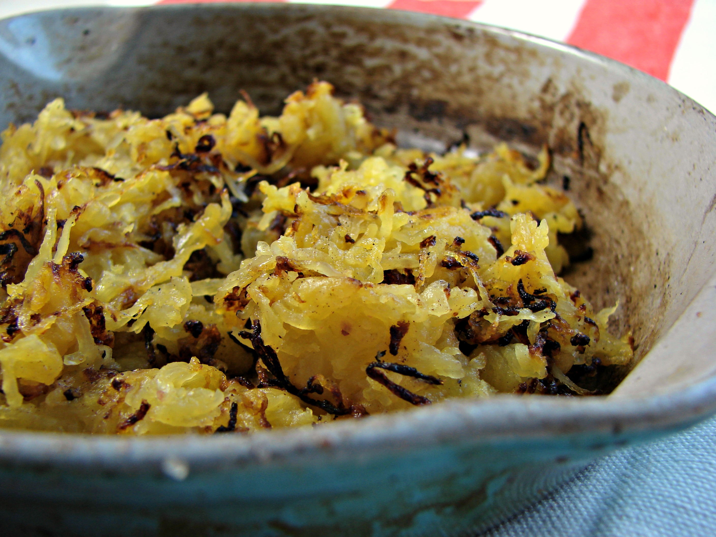 Spaghetti Squash Hash Browns Recipe