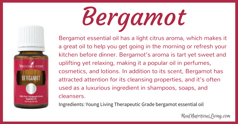 Bergamot Essential Oil | Real Nutritious Living