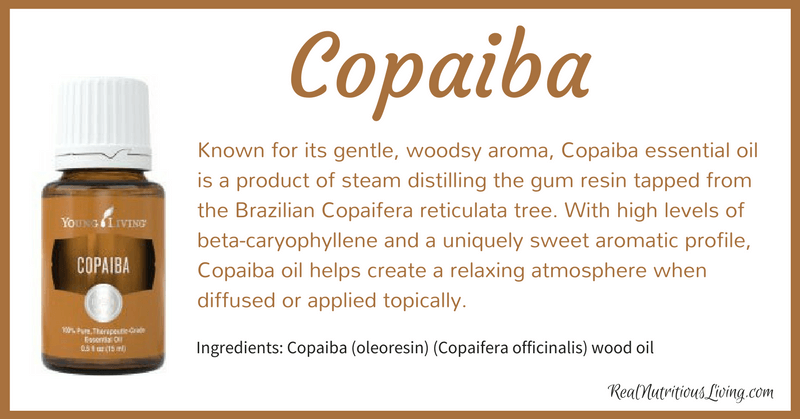 Copaiba Essential Oil | Real Nutritious Living