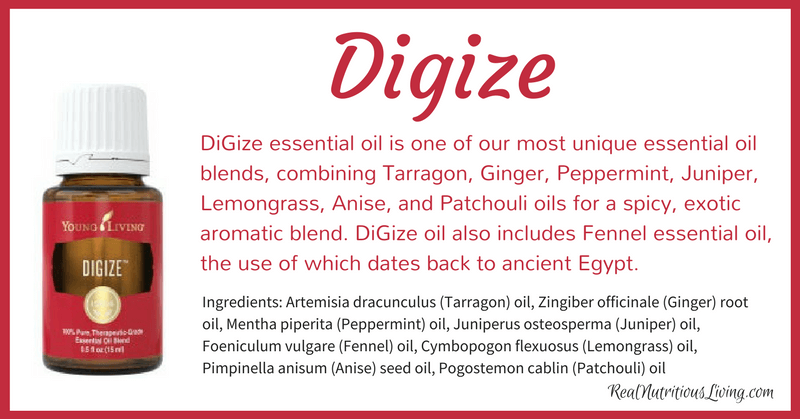 DiGize Essential Oil | Real Nutritious Living