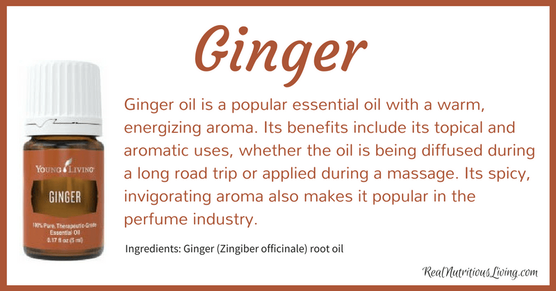 Ginger Essential Oil | Real Nutritious Living