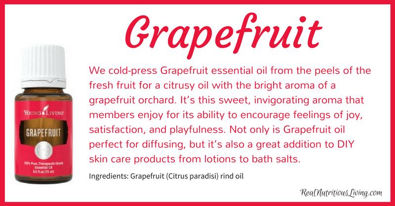 Grapefruit Essential Oil | Real Nutritious Living