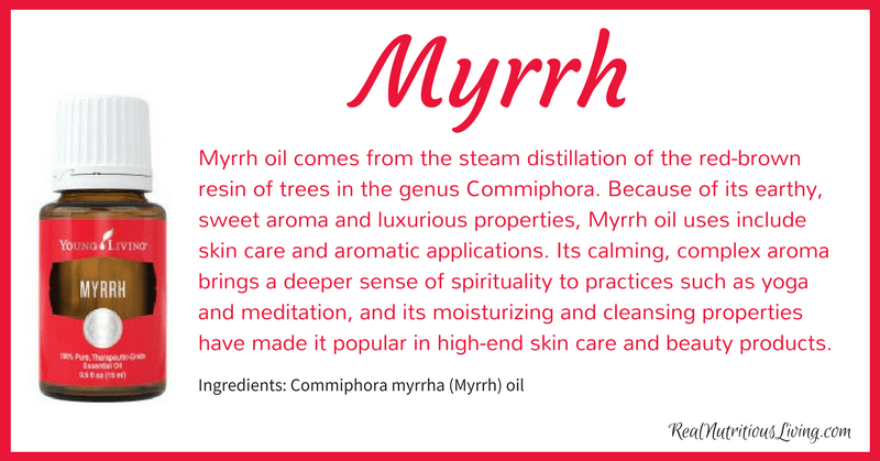 Myrrh Essential Oil | Real Nutritious Living