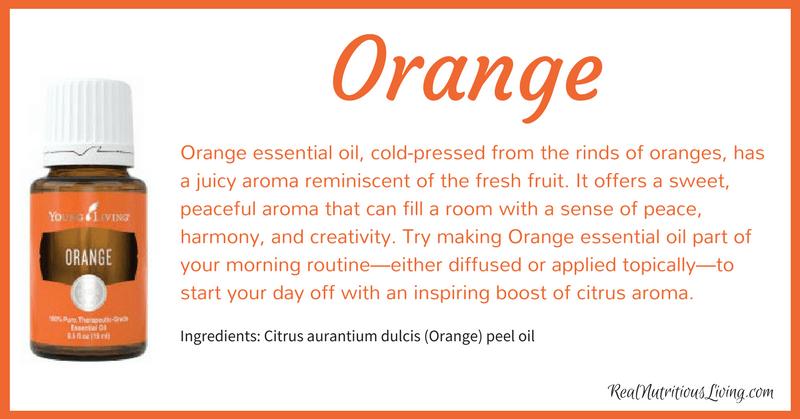 Orange Essential Oil | Real Nutritious Living