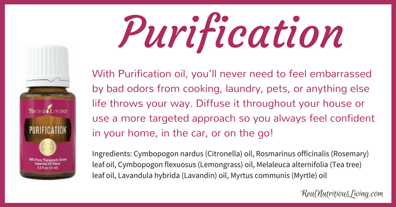 Purification Essential Oil | Real Nutritious Living
