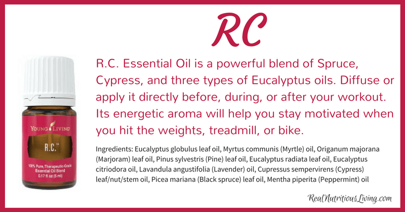 RC Essential Oil | Real Nutritious Living