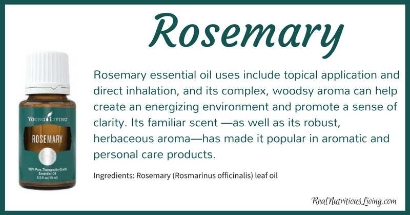 Rosemary Essential Oil | Real Nutritious Living