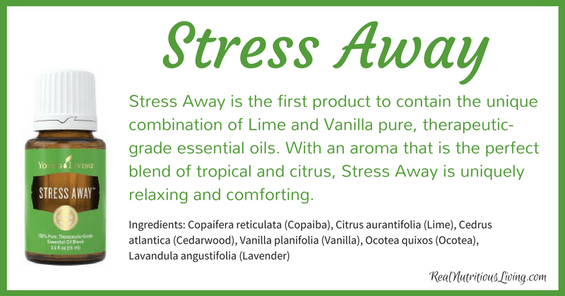 Stress Away Essential Oil | Real Nutritious Living