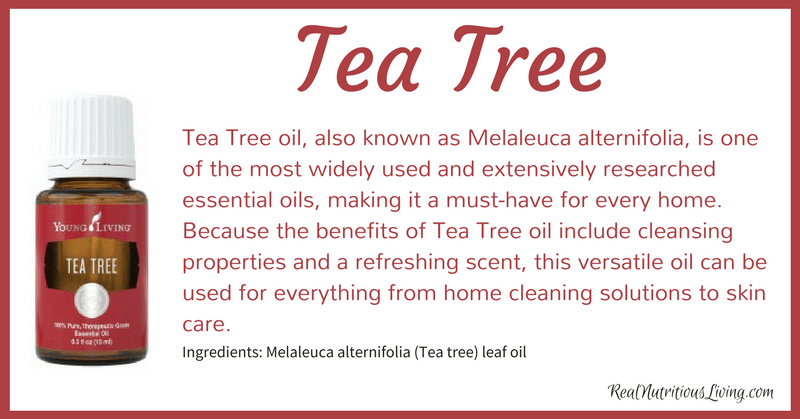 Tea Tree Essential Oil | Real Nutritious Living