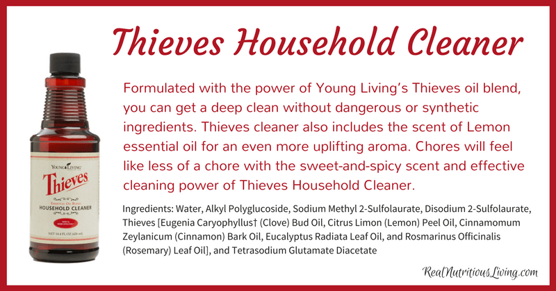 Thieves Household Cleaner | Real Nutritious Living
