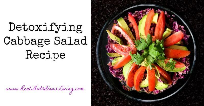 Detoxifying Cabbage Salad Recipe