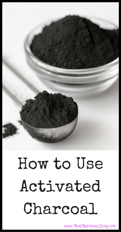 How to Use Activated Charcoal // realnutritiousliving.com