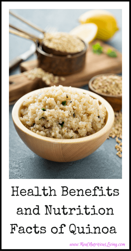 Health Benefits and Nutrition Facts of Quinoa // realnutritiousliving.com