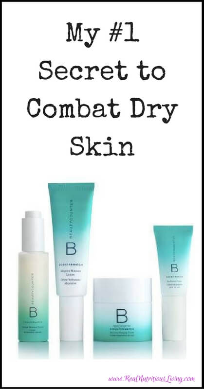 My #1 Secret to Combat Dry Skin // realnutritiousliving.com