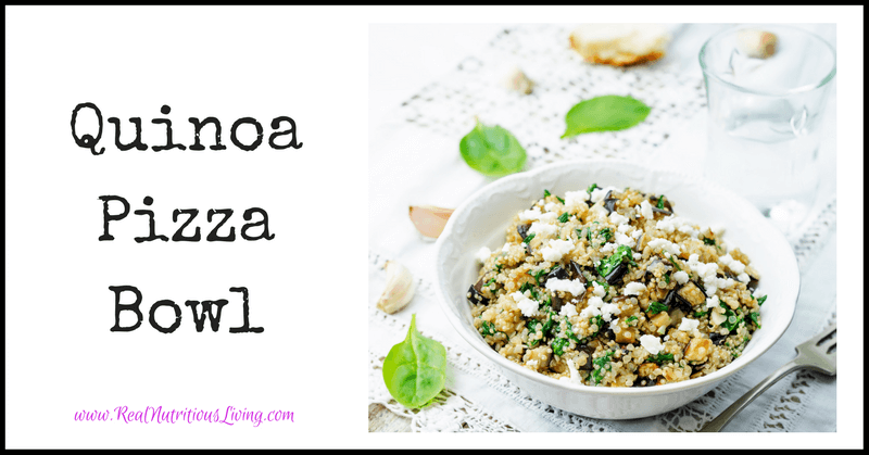 Quinoa Pizza Bowl Recipe
