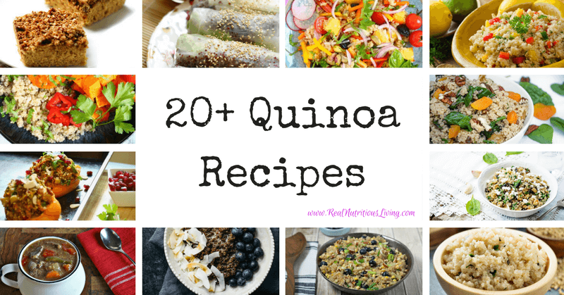 Quinoa Recipe Roundup