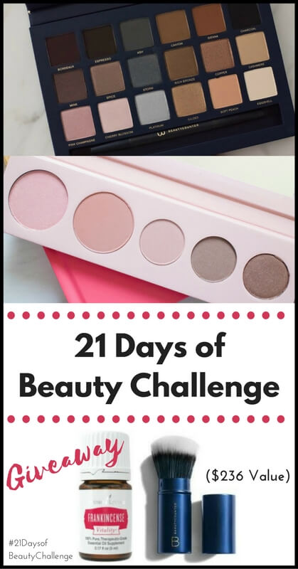 21 Days of Beauty Challenge + Giveaway! // realnutritiousliving.com