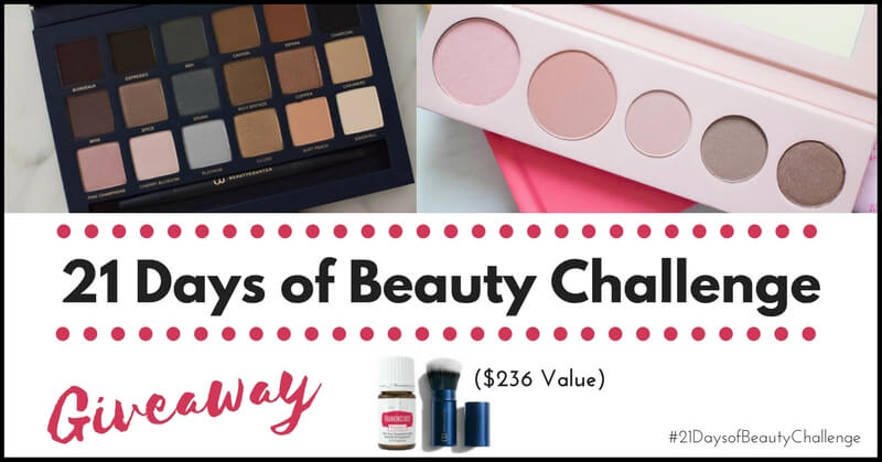 The 21 Days of Beauty Challenge + Giveaway!