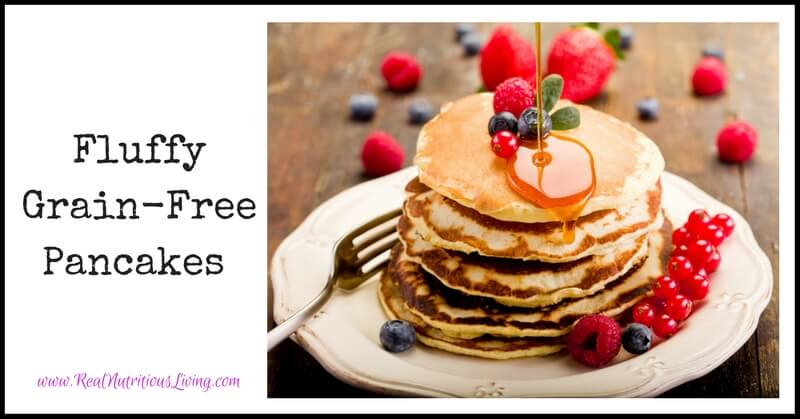 Fluffy Grain-Free Pancakes