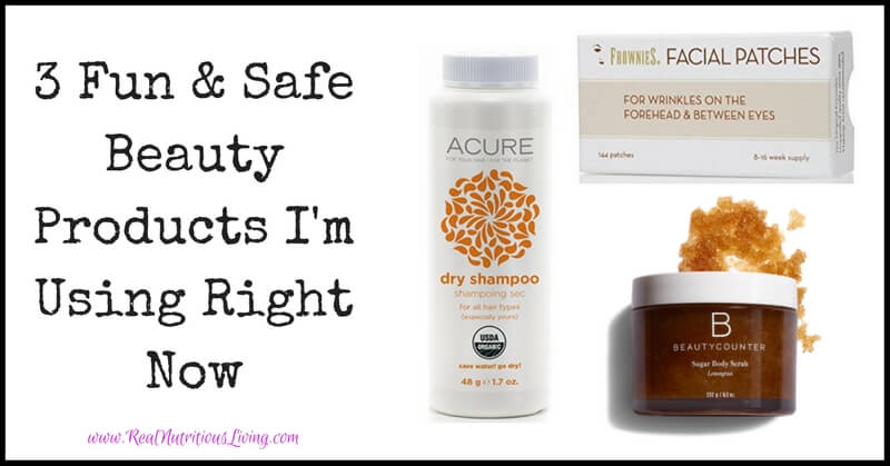 3 Fun & Safe Beauty Products I'm Using Right Now // realnutritiousliving.com
