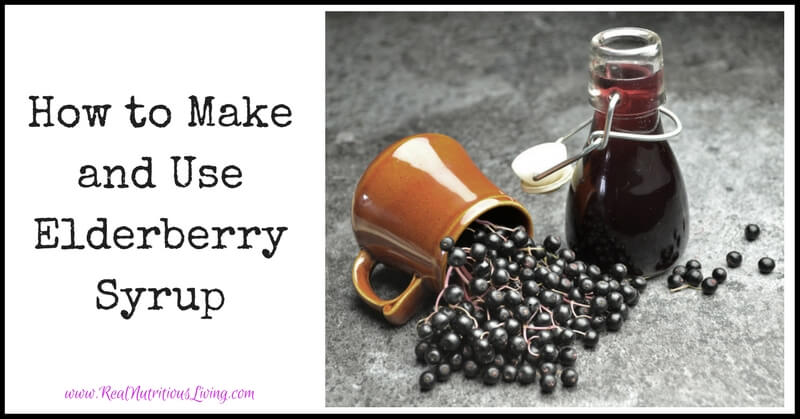 How to Make and Use Elderberry Syrup