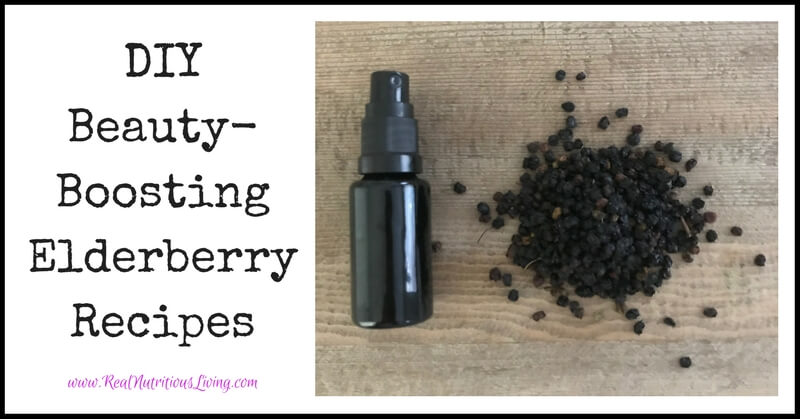 DIY Beauty-Boosting Elderberry Recipes // realnutritiousliving.com