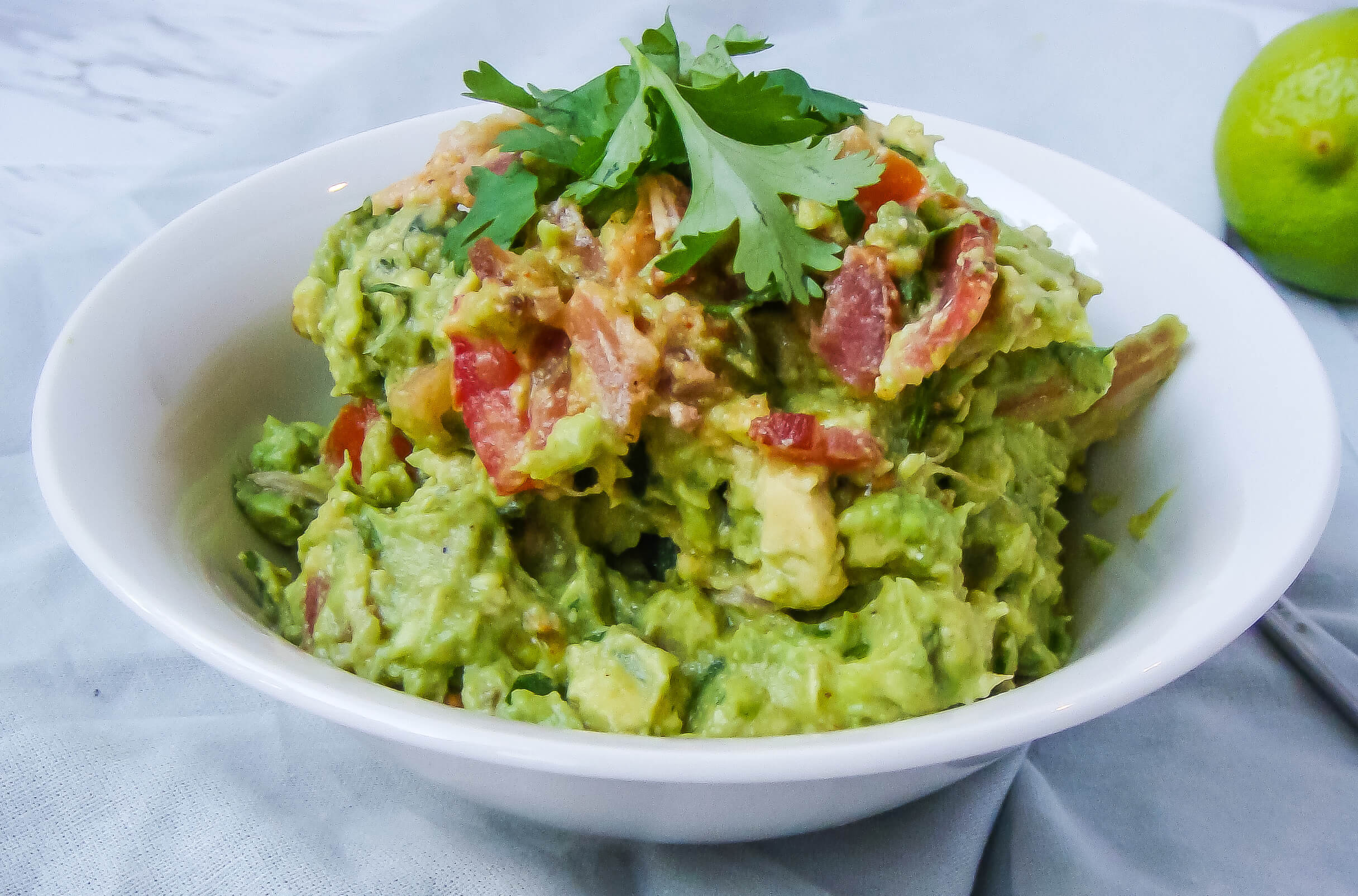 easy fat bomb bacon guacamole