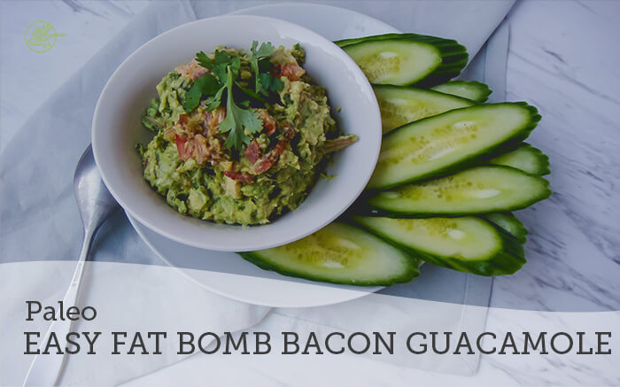 Easy Fat is the Bomb Bacon Guacamole (Paleo)