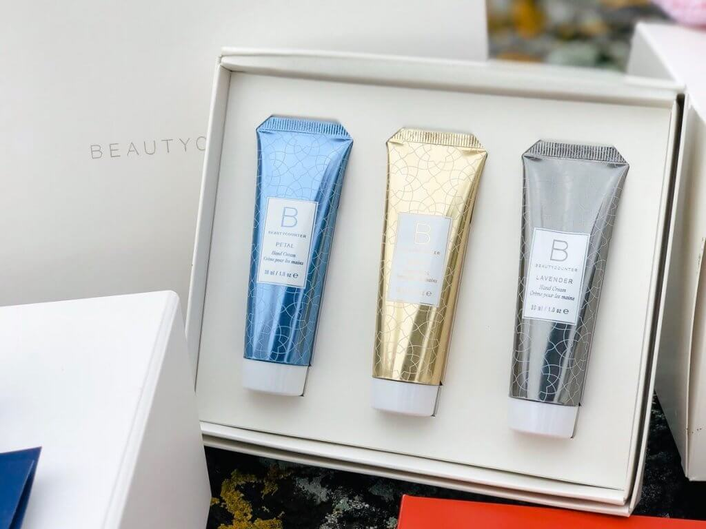 Beautycounter Holiday Review and video hand lotion trio
