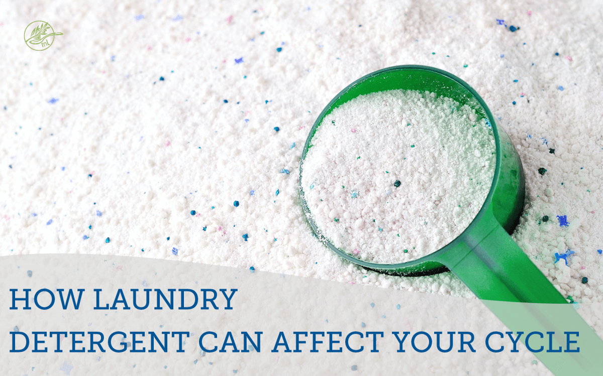 laundry detergent scoop in laundry detergent