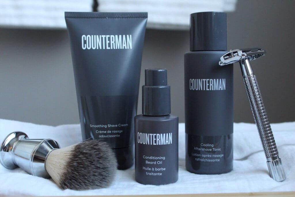 Counterman shave regimen