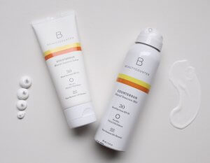 Beautycounter Mineral Sunscreen Spray and Lotion