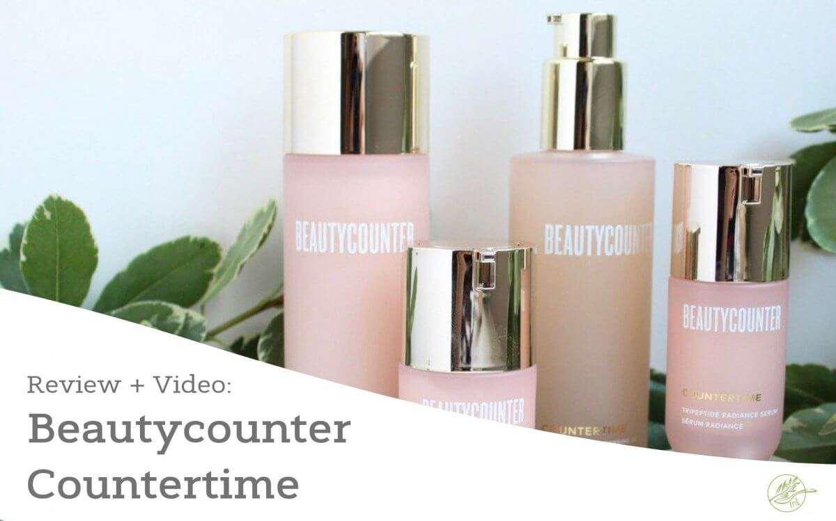 Beautycounter Countertime Review and Video