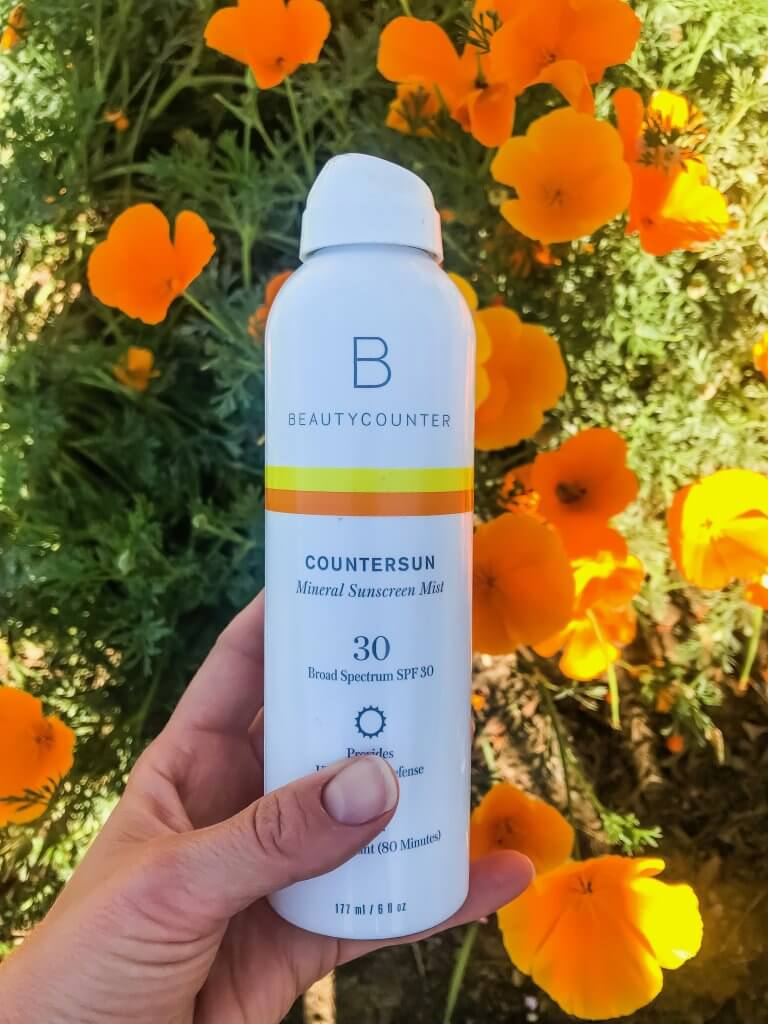 Beautycounter's Mineral Sunscreen Mist